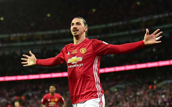 3a49f10f518 Twitter reacts as Zlatan Ibrahimovic helps Manchester United beat ...