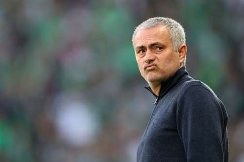 SAINT-ETIENNE, FRANCE - FEBRUARY 22:  Jose Mourinho, manager of Manchester United looks on before the UEFA Europa League Round of 32 second leg match between AS Saint-Etienne and Manchester United at Stade Geoffroy-Guichard on February 22, 2017 in Saint-Etienne, France.  (Photo by Christopher Lee/Getty Images)