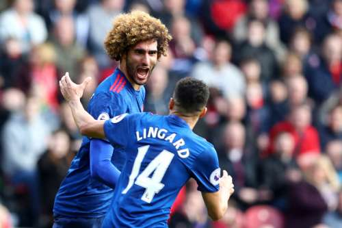 Middlesbrough Manchester United Player Ratings Fellaini Lingard