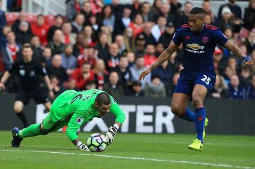 Middlesbrough Manchester United Player Ratings Victor Valdes
