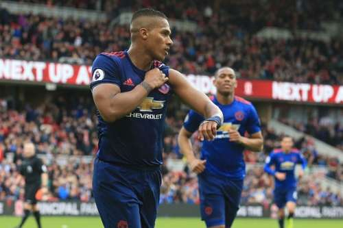 Middlesbrough Manchester United Player Ratings Antonio Valencia