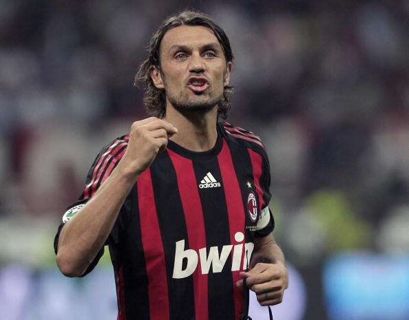 Paolo Maldini is regarded as one of the greatest defenders of all time