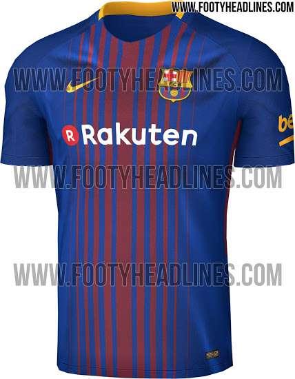 The supposed Barcelona kit (Image courtesy Footyheadlines.com) 4bcf56c42