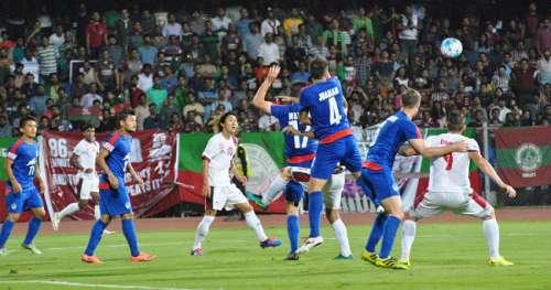 Bengaluru FC defence Mohun Bagan