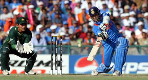 India Pakistan 2011 World Cup Sachin