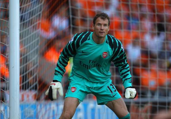 Lehmann was part of the Arsenal