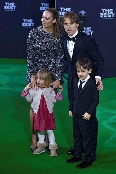 Luka Modric family