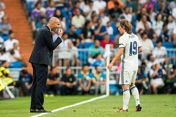 Luka Modric Zidane