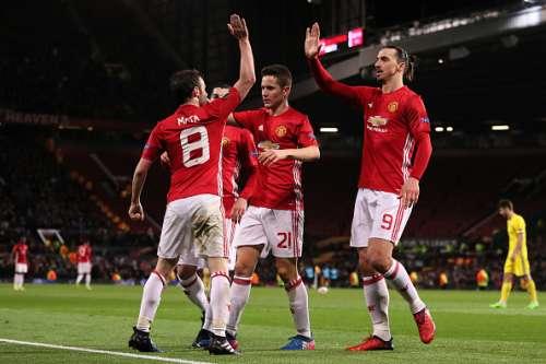 Manchester United Rostov Juan Mata Zlatan Ibrahimovic