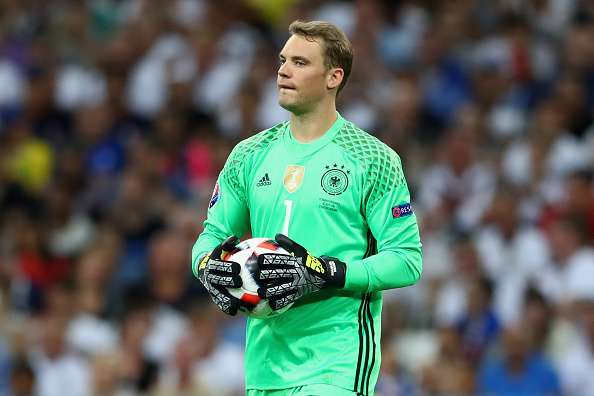 Neuer finished third in 2014 Ballon d