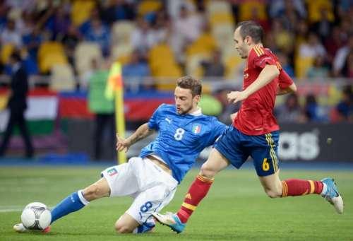 Claudio Marchisio Andres Iniesta