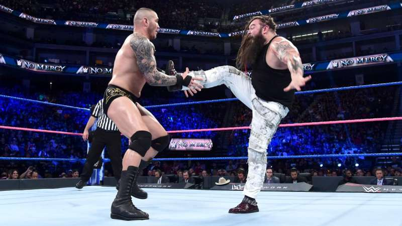 Lesnar v Wyatt at WrestleMania 33