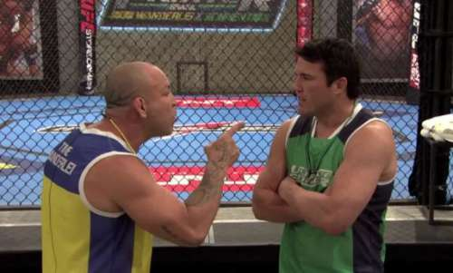 Wanderlei and Chael's feud was as real as it gets