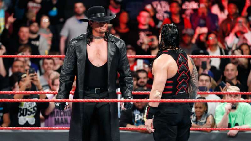 Undertaker Appears In The Ring