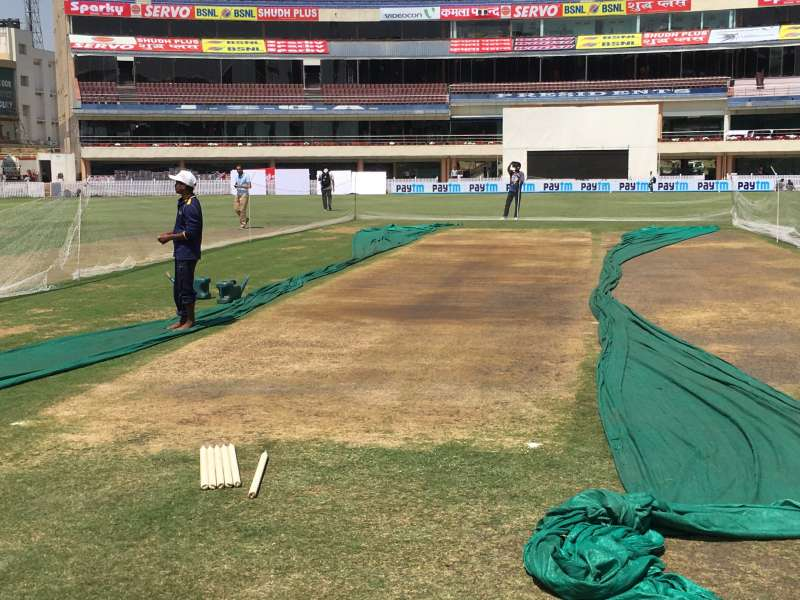 The pitch in Ranchi