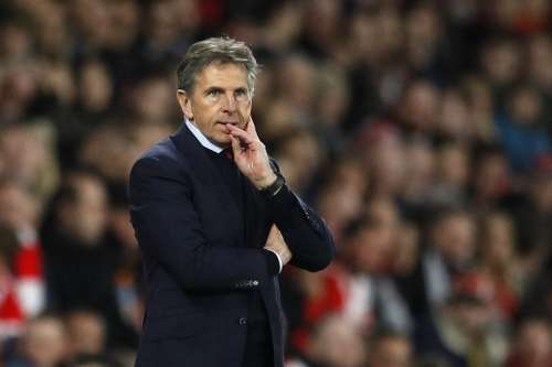 Britain Soccer Football - Southampton v Crystal Palace - Premier League - St Mary's Stadium - 5/4/17 Southampton manager Claude Puel Reuters / Peter Nicholls Livepic
