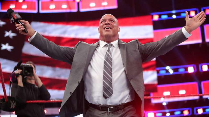 Image result for kurt angle returned