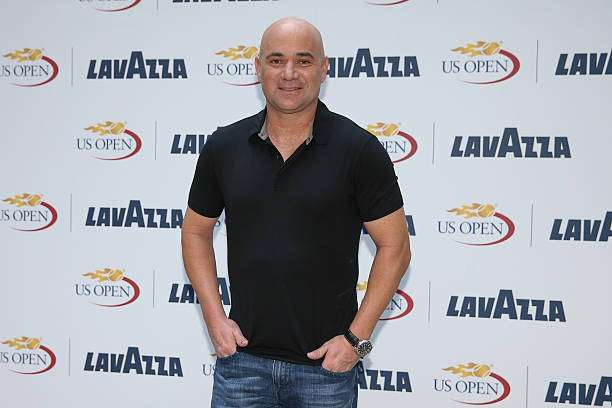 NEW YORK, NY - AUGUST 30: Andre Agassi at the kickoff party announcing his global partnership with Lavazza at NOMO Kitchen on August 30, 2016 in New York City. (Photo by Ed Mulholland/Getty Images for Lavazza)