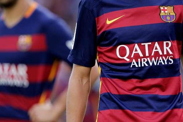 Barcelona jersey sponsors