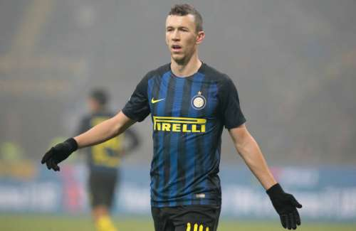 MILAN, ITALY - JANUARY 31: Ivan Perisic of FC Internazionale Milano gestures during the TIM Cup match between FC Internazionale and SS Lazio at Stadio Giuseppe Meazza on January 31, 2017 in Milan, Italy.  (Photo by Emilio Andreoli/Getty Images)