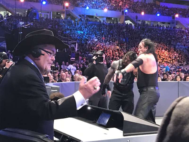 Wwe News The Undertaker And Jim Ross Shared An Emotional