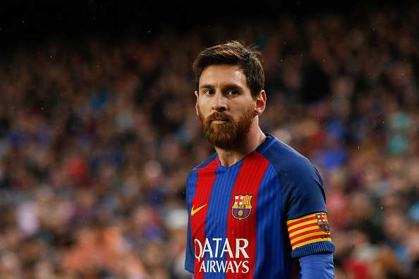 Barcelona Soccer Players Messi