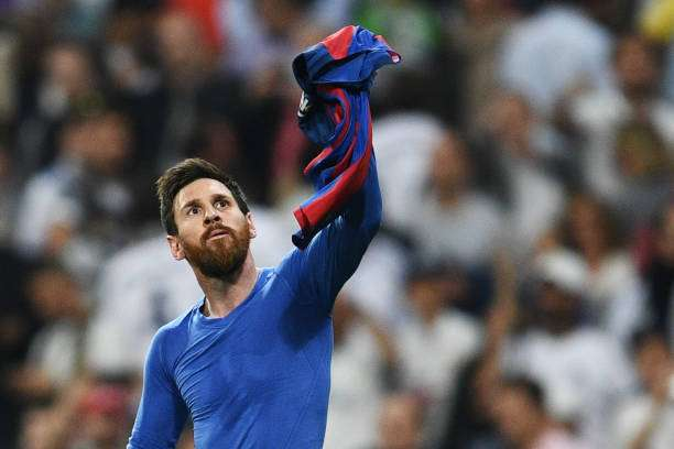 Lionel Messi with the ultimate insult to Cristiano Ronaldo and brand CR7 0743159c8