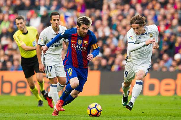 8e28aeb385e2b Real Madrid vs Barcelona  El Clasico Combined XI