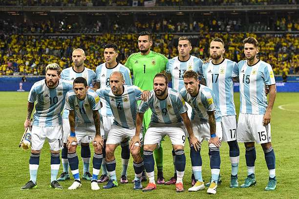 Argentina World Cup Qualifying Squad 2018