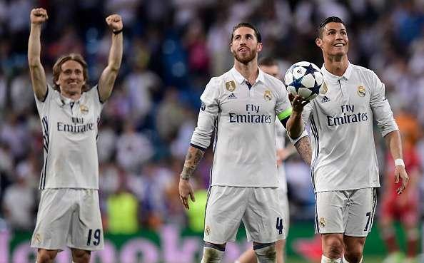Cristiano Ronaldo and Sergio Ramos at war: Zinedine Zidane ... |Sergio Ramos And Cristiano Ronaldo