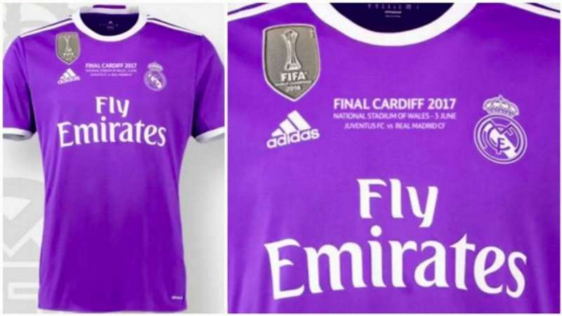 87603bbe3 Confirmed  Real Madrid s kit for the Champions League final
