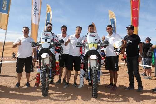 CS Rodrigues Hero MotoSports Team Rally Joaquim Rodrigues 2017 Merzouga Rally Day Stage 6 Final