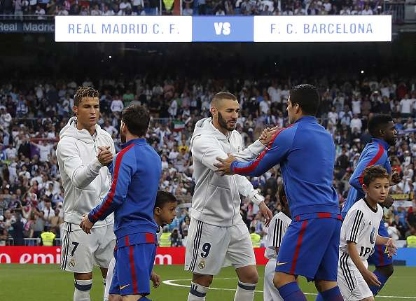 Barcelona Or Real Madrid Who Tops The Year La Liga Table - Barcelona fc table