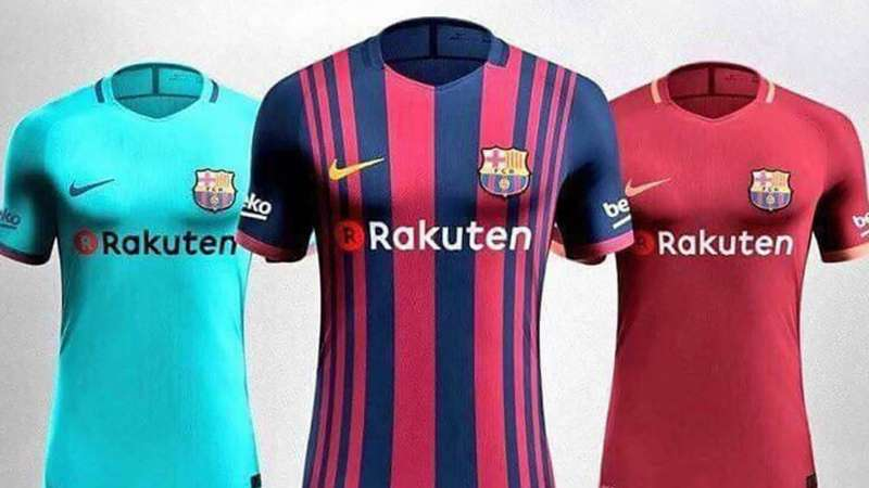 ba887c841 Leaked  Barcelona s 3 kits for the 2017 18 season