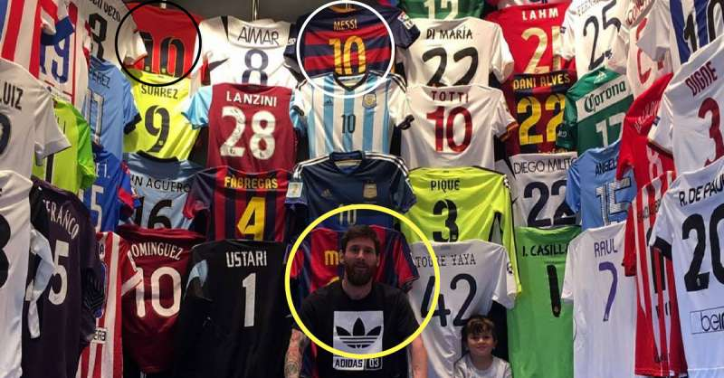 6a9060476 5 interesting things we learned from lionel messi s majestic shirt