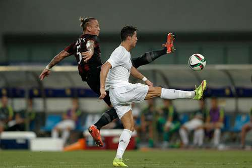 Ronaldo last played in China back in the summer of 2015.