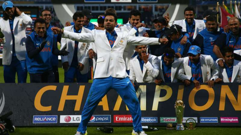 India Are The Reigning ICC Champions Trophy Winners