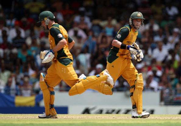 David Hussey and Michael Hussey