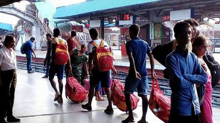 East Bengal team train
