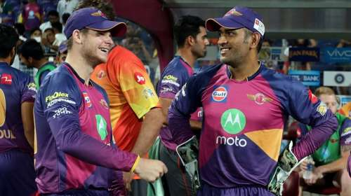 Steve Smith MS Dhoni