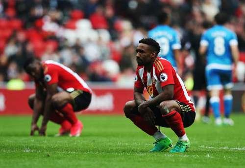Jermain Defoe Sunderland players didn't deserve relegated