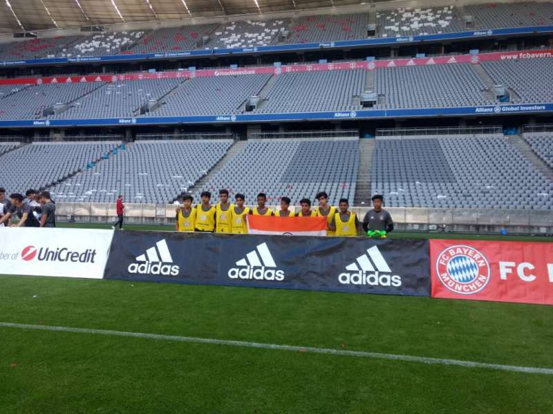 df665e4cb Indian kids revel in unique exposure provided by Bayern Munich and adidas
