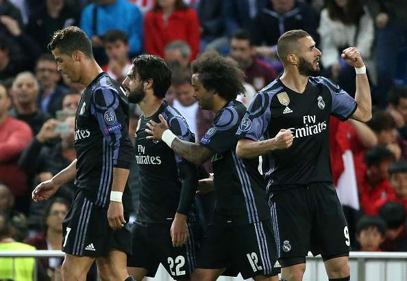 Player Ratings Real Madrid 2: UEFA Champions League 2016/17, Atletico Madrid 2-1 Real
