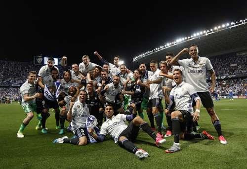 Real Madrid La Liga champions