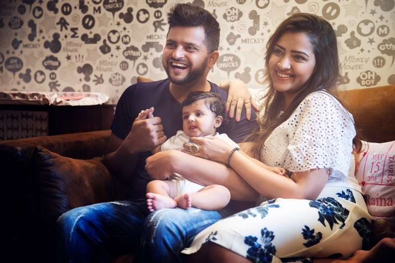 Suresh Raina and wife Priyanka Chaudhary Raina set to ...