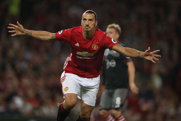 Zlatan Ibrahimovic Premier League goal