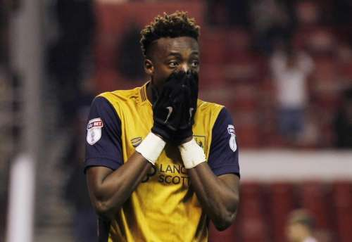 Britain Soccer Football - Nottingham Forest v Bristol City - Sky Bet Championship - The City Ground - 21/1/17 Bristol City's Tammy Abraham looks dejected at the end of the match. Action Images / Tom Jacobs/ Livepic/ Files