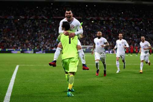Chile 3-0 Portugal Confed Cup highlights penalty shootout