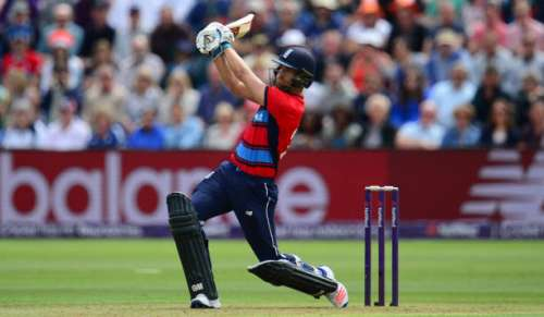 CARDIFF, WALES - JUNE 25: Dawid Malan of England bats during the 3rd NatWest T20 International between England and South Africa at the SWALEC Stadium on June 25, 2017 in Cardiff, Wales. (Photo by Harry Trump/Getty Images)