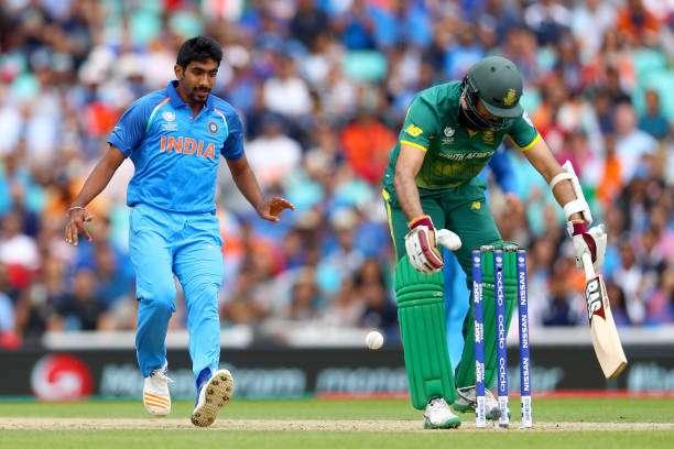 Image result for ind vs sa odi 2017 bumrah